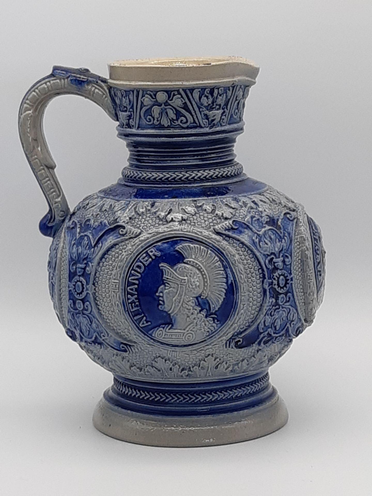 Винтажная амфора Westerwald Salt Glazed Stoneware, Germany