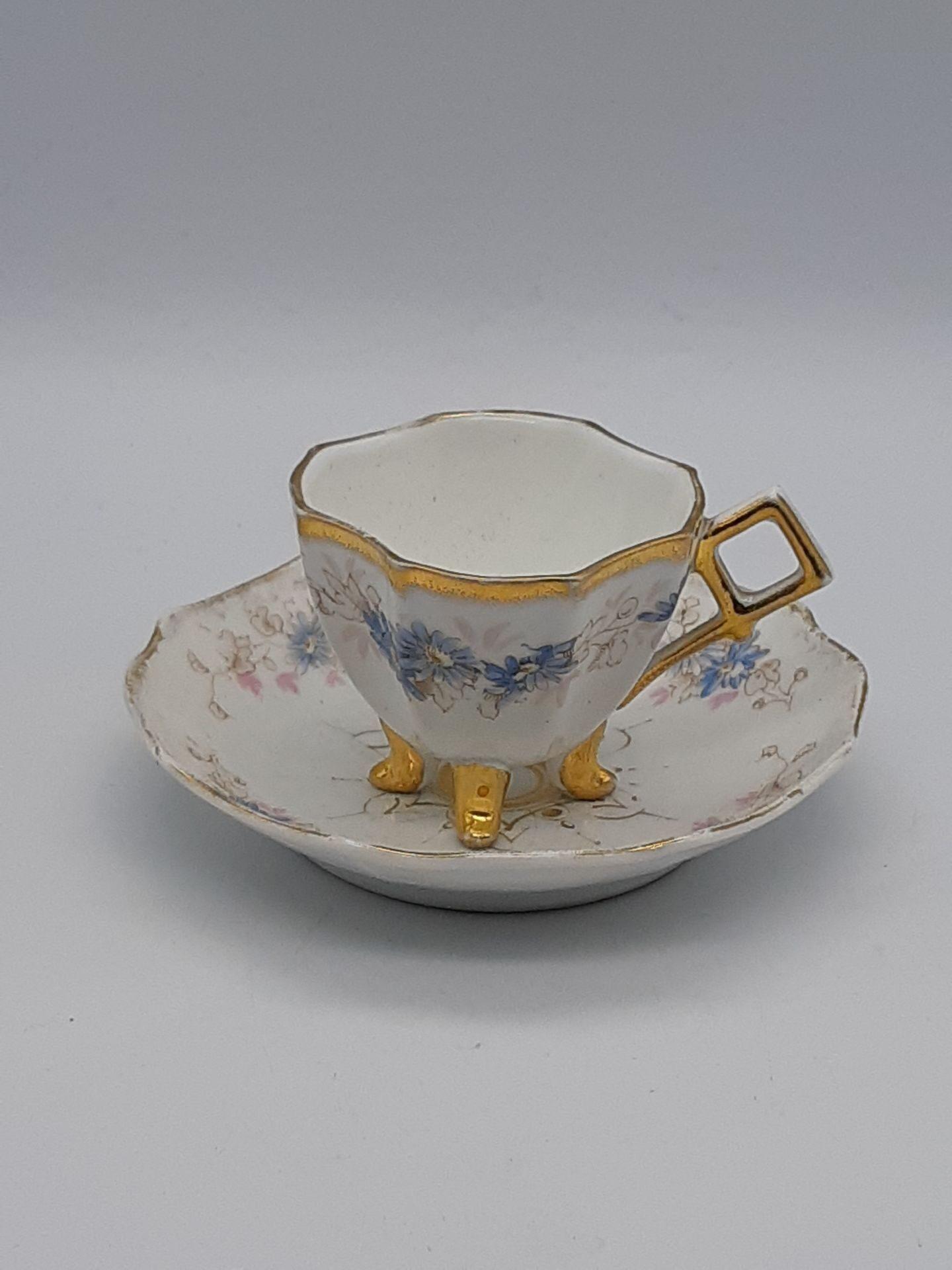 Антикварная кофейная пара СВ02100000493, Англия