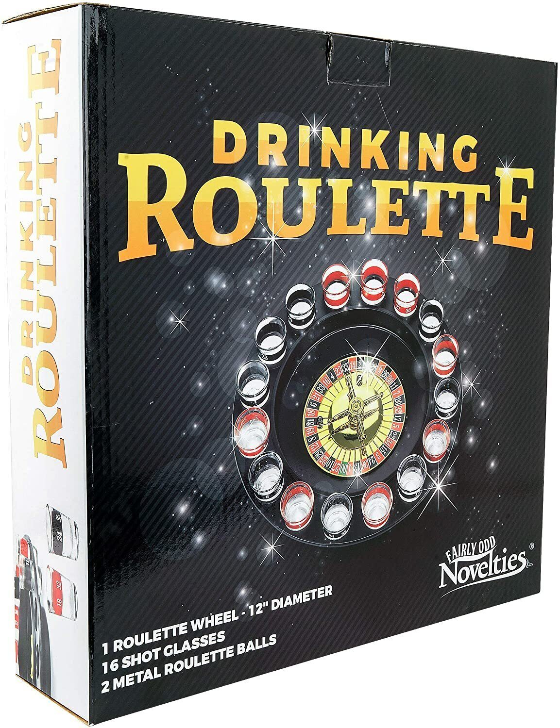 Drinking Roulette incl. 16 shot glasses 3);