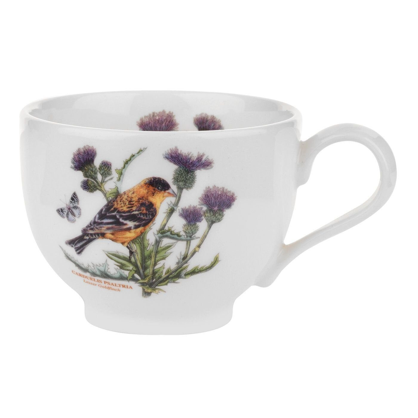 Portmeirion Botanic Garden Birds Cup and Saucer Lesser Goldfinch 1);