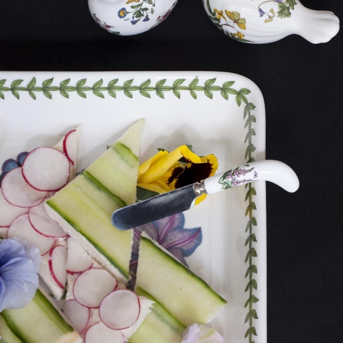 Portmeirion Botanic Garden Cheese Knife and Spreaders 1 — копия);