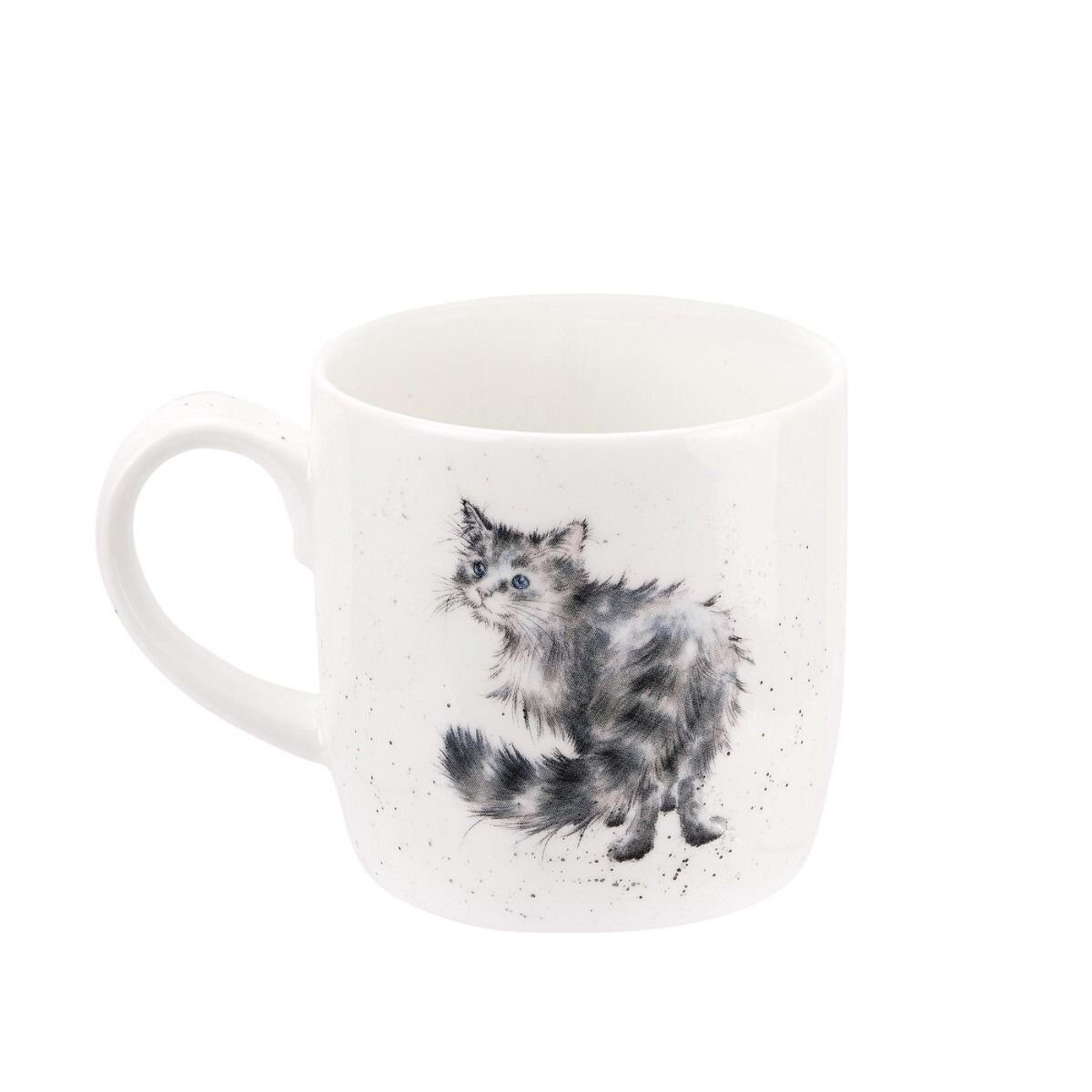 Royal Worcester Wrendale Designs Lady of the House Cat Fine Bone China Mug 2);
