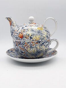 C542 Сет Tea for one Golden Lily в подарочной коробке William Morris  AM06C542 Heritage, Leonardo, England