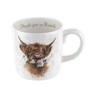K31 Кружка Royal Worcester Wrendale Designs Cow Large 14oz Mug