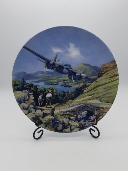 D612  Декоративная тарелка Mosquito over the lakes, Royal Doulton