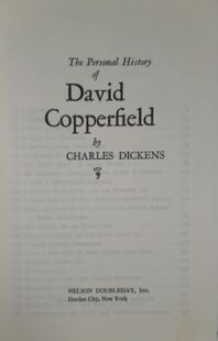 Charles Dickens  David Copperfield 1975 , Nelson Doubleday, USA