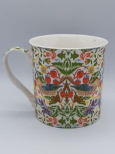 Кружка Strawberry Thief William Morris AM-16-AUG-9-8 Leonardo Collection, England