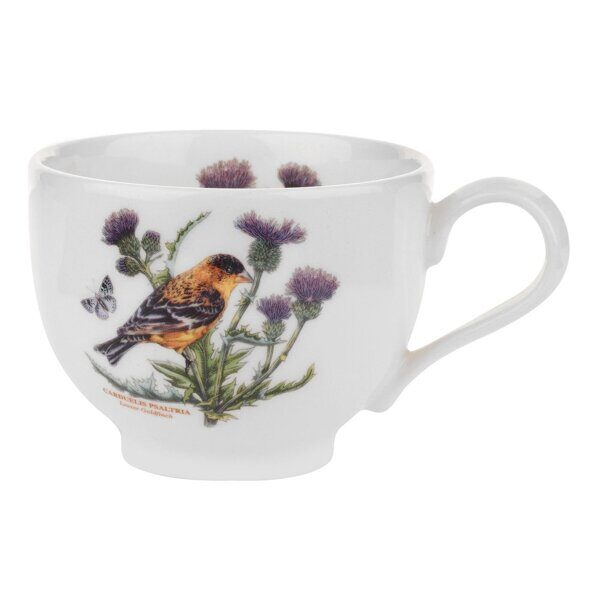 Portmeirion Botanic Garden Birds Cup and Saucer Lesser Goldfinch 1