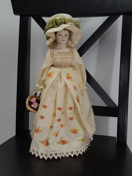 Royal Doulton Nisbet Porcelain Heirloom Doll With Stand , EB08100001014, Англия
