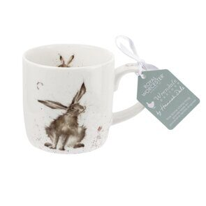 K293 Royal Worcester Wrendale Designs Good Hare Day Fine Bone China Mug