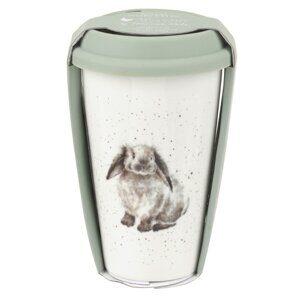 K287 Royal Worcester Wrendale Rabbit Travel Mug