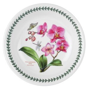 C304 Тарелка Portmeirion Exotic Botanic Garden Dinner Plate Orchid , 18.5 см,  Portmeirion, England