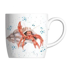 E517 Кружка  Royal Worcester Wrendale Designs Happy Crab Fine Bone China Mug