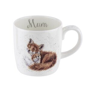K30 Кружка Royal Worcester Wrendale Designs Fox Large 14oz Mug