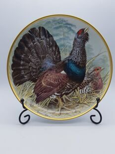 B234 Gamebirds of the world by Basil Ede, Capercaillie  ЕВ04B234, Franclin Porcelain