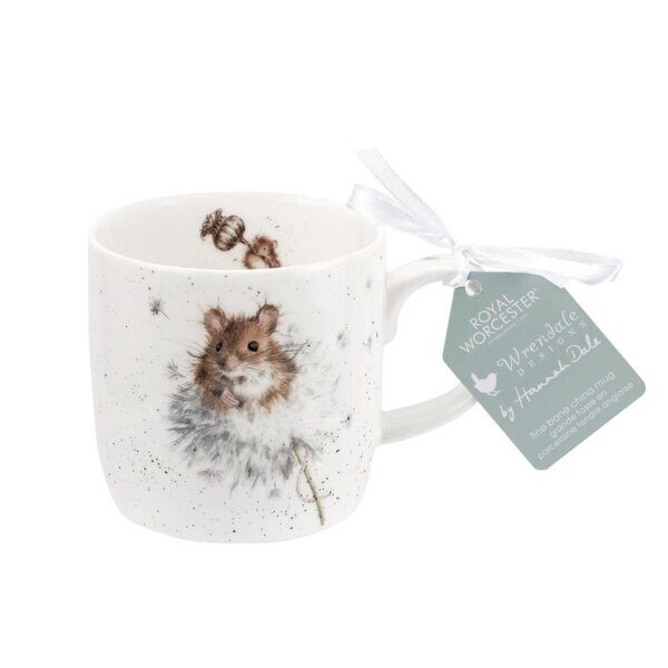 Royal Worcester Wrendale Designs Country Mice Fine Bone China Mug