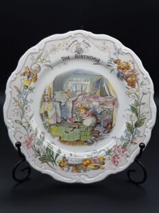 PP2 Фарфоровая тарелка Brambley Hedge The Birthday EB1412190000458, Doulton, England