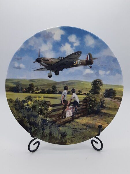 D611  Декоративная тарелка Spitfire coming home, Royal Doulton