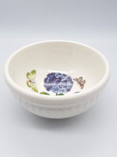 K73 Салатница Portmeirion Botanic Garden Embossed  Primula 5 Inch Fruit Salad Bowl 13 cм