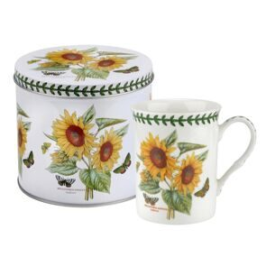 Сет 2 предмета Portmeirion Botanic Garden Mug & Tin Set - Sunflower, Portmeirion, England