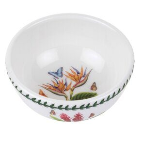K43 Салатница-Пиала Portmeirion Exotic Botanic Garden Fruit Salad Bowl Bird of Paradise 13 см