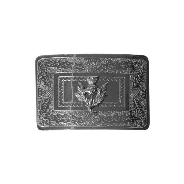 K152 Пряжка HERITAGE OF SCOTLAND KIDS RAISED THISTLE BUCKLE