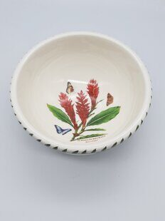 K75 Салатница-Пиала Portmeirion Exotic Botanic Garden Fruit Salad Bowl Red Ginger 12 см