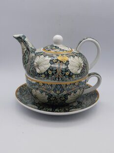 C543 Сет Tea for one Golden Lily в подарочной коробке William Morris  AM06C543 Heritage, Leonardo, England