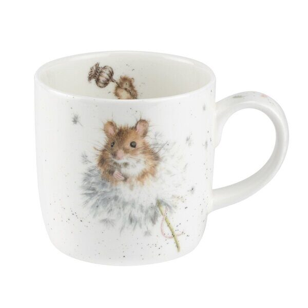 Royal Worcester Wrendale Designs Country Mice Fine Bone China Mug 1
