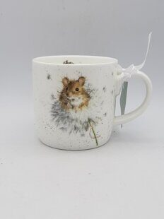 4P111 Кружка Royal Worcester Wrendale Designs Country Mice Fine Bone China Mug, England