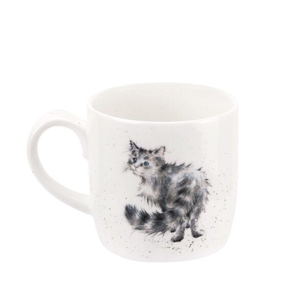 Royal Worcester Wrendale Designs Lady of the House Cat Fine Bone China Mug 2