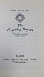 Charles Dickens  Pickwick Papers 1977 , England