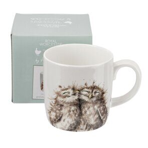 D507 Royal Worcester Wrendale Designs The Twits Large 14oz Mug Owls