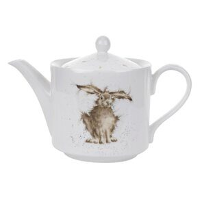 D542 Royal Worcester Wrendale Designs Hare 2 Pint Teapot