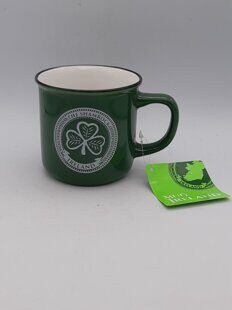 C478 Кружка Irish Celtic Designed 12Oz Shamrock Ireland, Green In Colour ЕВ07C478 Royal Tara, Ирландия