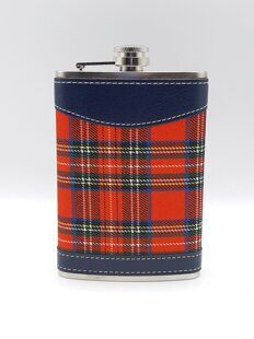 K126 Фляжка  HERITAGE OF SCOTLAND SCOTTISH TARTAN HIP FLASK - SCOTLAND