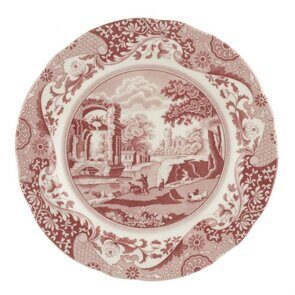 E543 Spode Cranberry Italian 27cm Plate Single