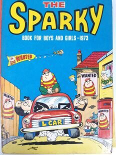 The Sparky, Book for boys and girls. Annual 1973 , England