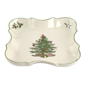 5P136 Spode Christmas Tree Devonia Serving Tray