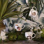 4P117 Кружка  Royal Worcester Wrendale Designs Toucan of My Affection Fine Bone China Mug, England