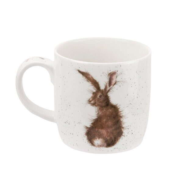 Royal Worcester Wrendale Designs The Hare and the Bee Fine Bone China Mug 1