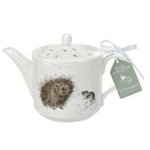 D538 Royal Worcester Wrendale Designs Чайник ёжики - Hedgehog,  Royal Worcester, England
